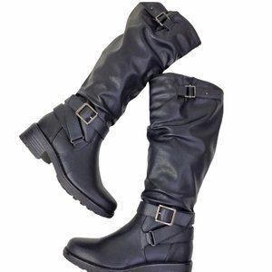 Size 9 boots Black
